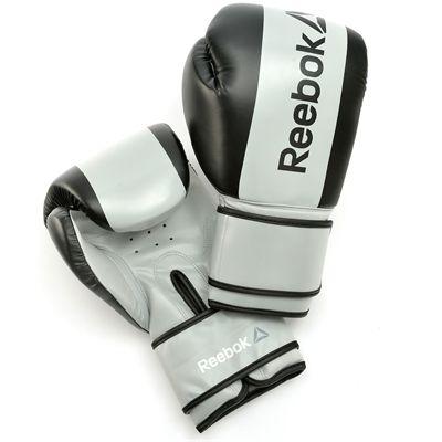Reebok Combat Boxing Gloves-Grey