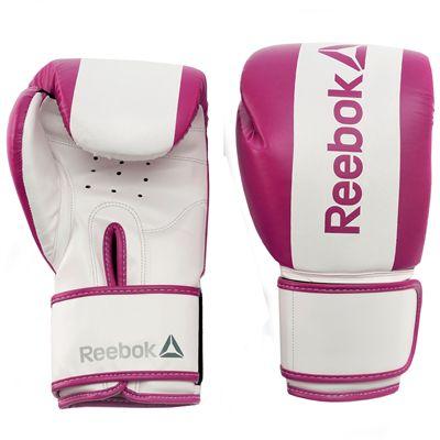 Reebok Combat Boxing Gloves-Purple-10oz