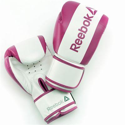 Reebok Combat Boxing Gloves-Purple