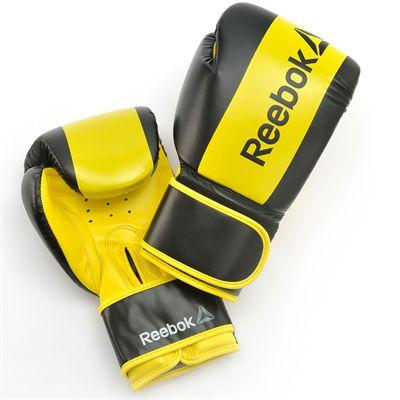 Reebok Combat Boxing Gloves-Yellow