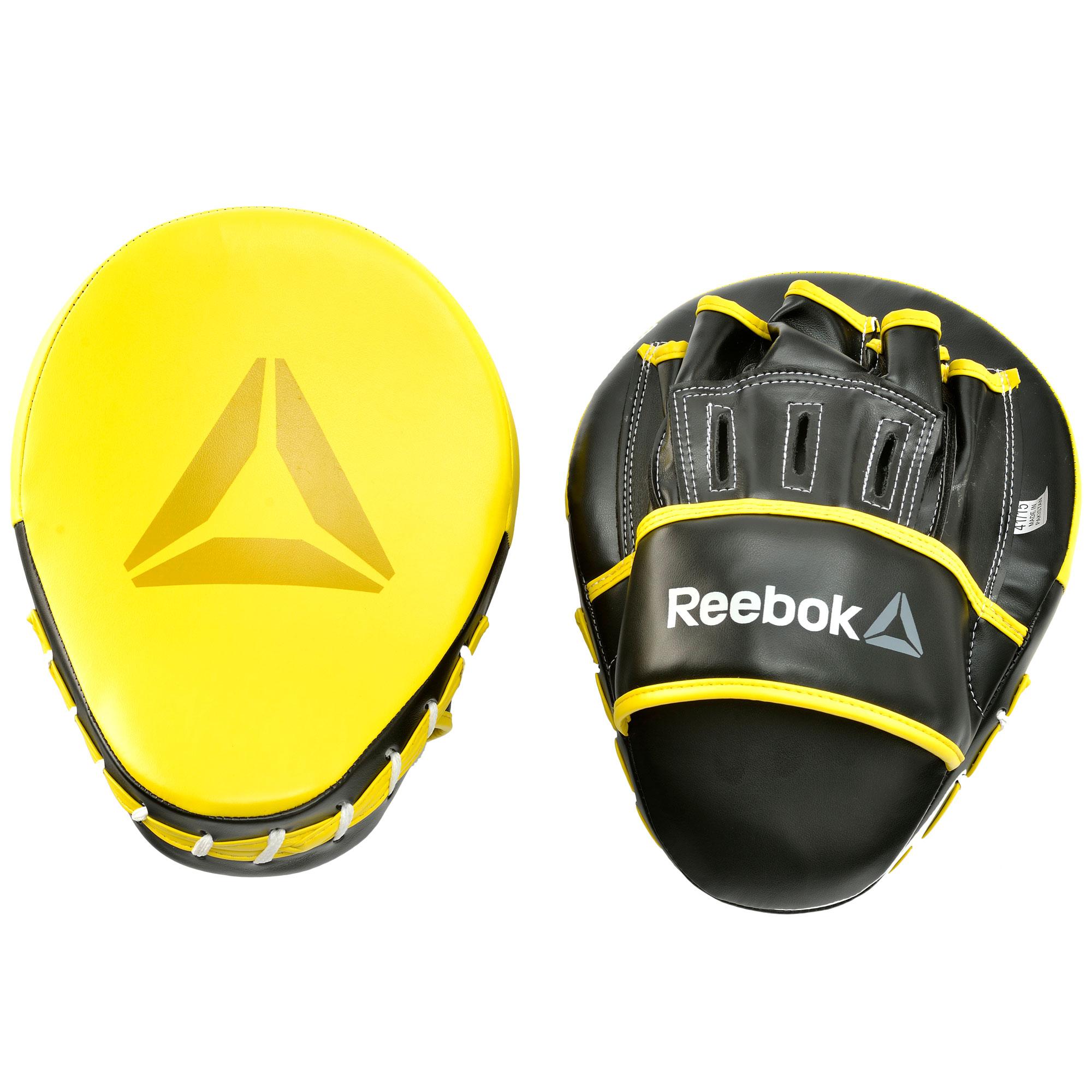 Reebok Combat Hook and Jab Pads - Yellow