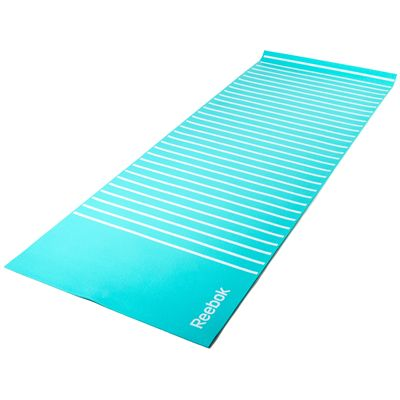 Reebok Crystal Blue 4mm Double Sided Yoga Mat-Top Side