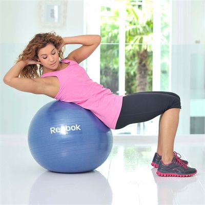 Reebok Elements 65cm Gym Ball - In Use