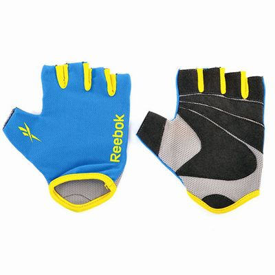 Reebok Fitness Gloves Cyan1