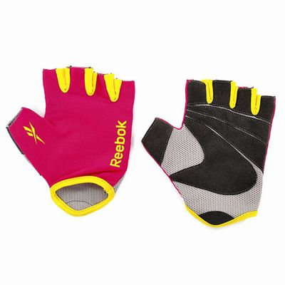 Reebok Fitness Gloves Magenta1