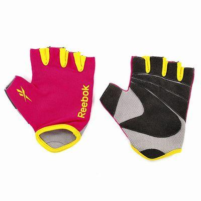 Reebok Fitness Gloves Magenta1