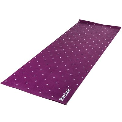 Reebok Hello Hi 4mm Double Sided Yoga Mat-Underside
