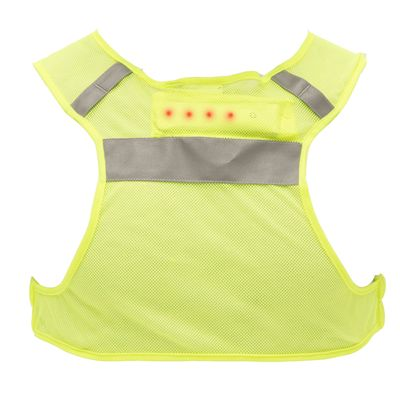 Reebok High-Visibility LED Small Running Vest - Back