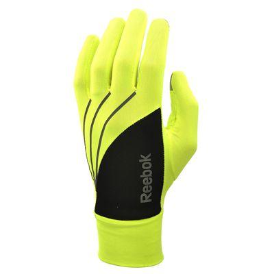 Reebok High-Visibility Running Gloves