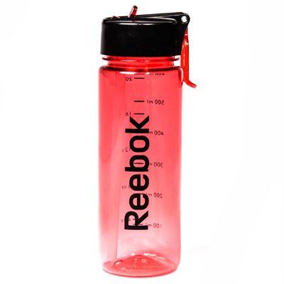 Reebok Mens Training 650ml Water Bottle-Red