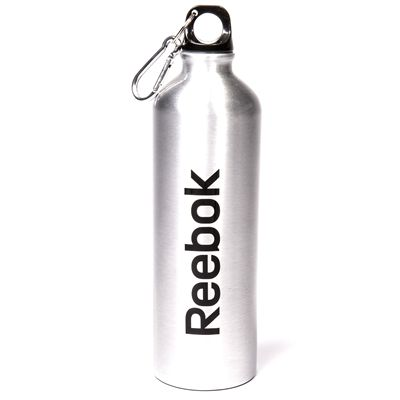 Reebok Mens Training 750ml Aluminium Water Bottle