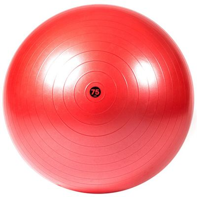 Reebok Mens Training 75cm Gym Ball-Red - Size View Image