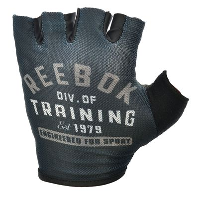 Reebok Mens Training Div Training Gloves - front view