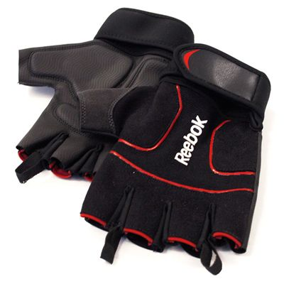 Reebok Mens Training Lifting Gloves Image
