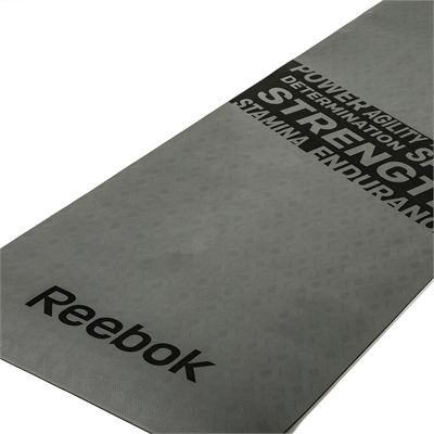 Reebok Mens Training Strength Fitness Mat-Grey-Zoom