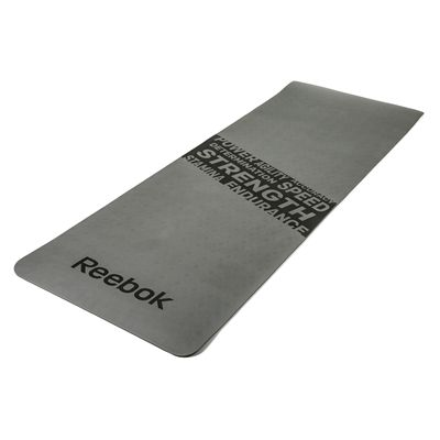 Reebok Mens Training Strength Fitness Mat-Grey
