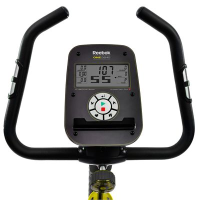Reebok One GB40 Exercise Bike - Console View