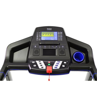 Reebok One GT60 Treadmill - Console View