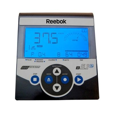 Reebok B5.1e Exercise Bike - Console