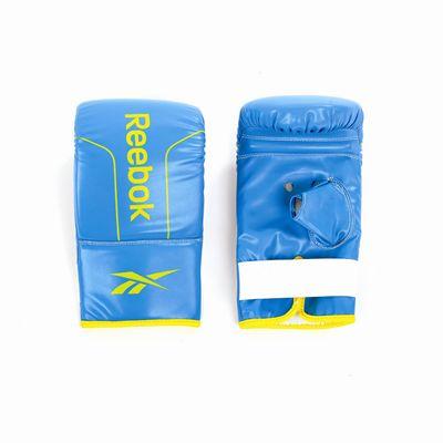 Reebok PU Boxing Mitts Cyan