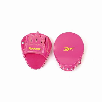 Reebok PU Hook and Jab Pads Magenta