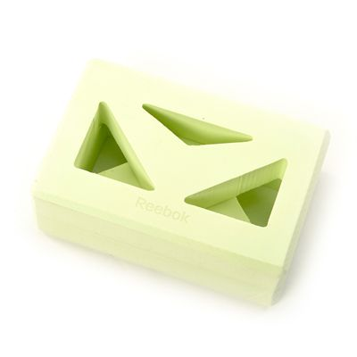Reebok Shaped Yoga Block - Top View
