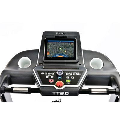 Reebok Titanium TT3.0 Treadmill - console with iPad