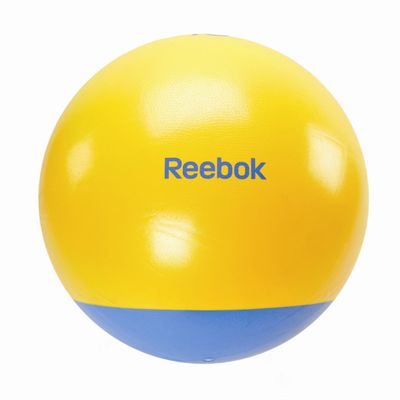 Reebok Two Tone 65cm Gym Ball Cyan