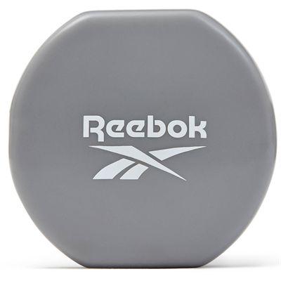 Reebok Vinyl Dumbbells - Pair 3kg - Side Logo