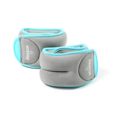 Reebok Womens Training 2 x 1.5kg Ankle Weights - Image 1