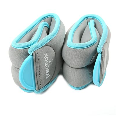 Reebok Womens Training 2 x 1kg Ankle Weights - Image 1