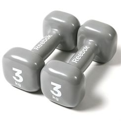 Reebok Womens Training 2 x 3kg Dumbbells