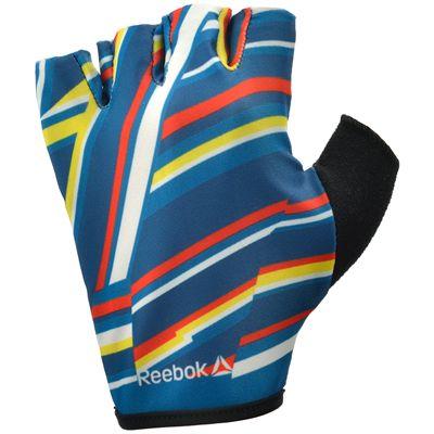 Reebok Womens Training Fitness Gloves-Multicolor