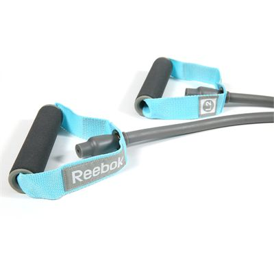 Reebok Womens Training Level 2 Medium Resistance Tube Grip Handles