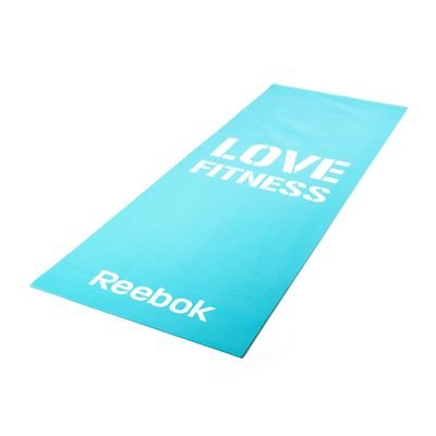 Reebok Womens Training Love Fitness Mat-Blue
