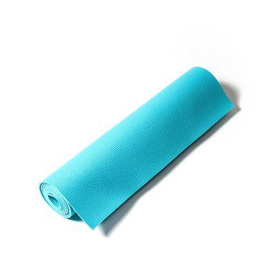 Reebok Womens Training Love Fitness Mat-Blue Roll