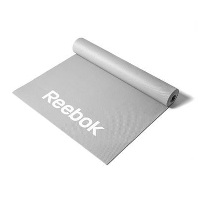 Reebok Womens Training Love Fitness Mat-Grey-Image