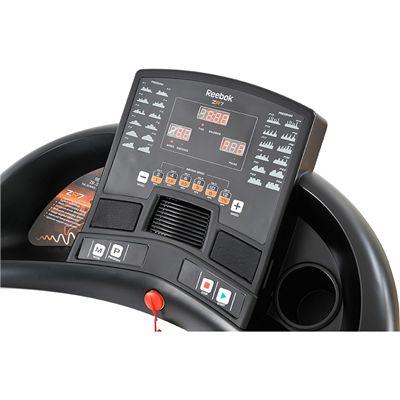 Reebok ZR7 Treadmill - White - console