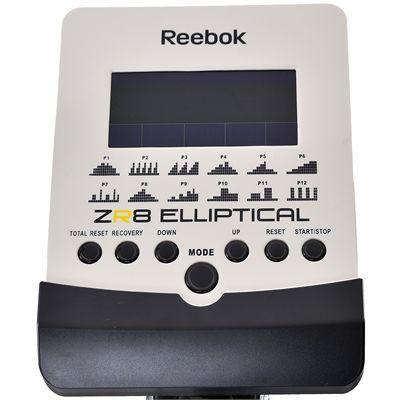 ZR8 elliptical white console