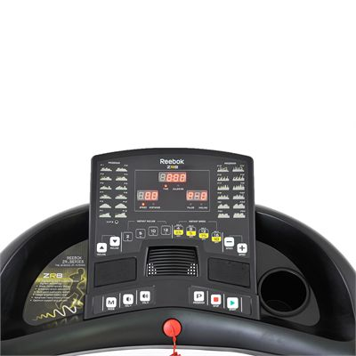Reebok ZR8 Treadmill - console