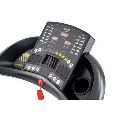 Reebok ZR8 Treadmill - White - Console