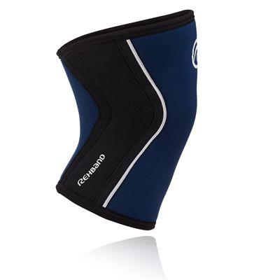 Rehband RX 5mm Knee Sleevem - Navy Side