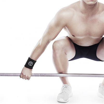 Rehband RX Wrist Sleeves - In Use