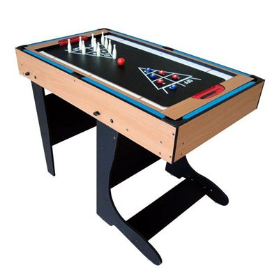 Riley 4ft 12 in 1 Folding Multi Games Table Bowling