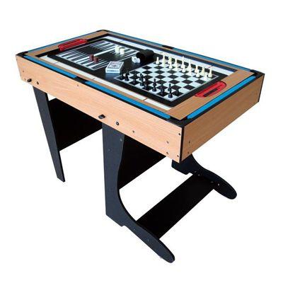 Riley 4ft 12 In 1 Folding Multi Games Table Sweatband Com