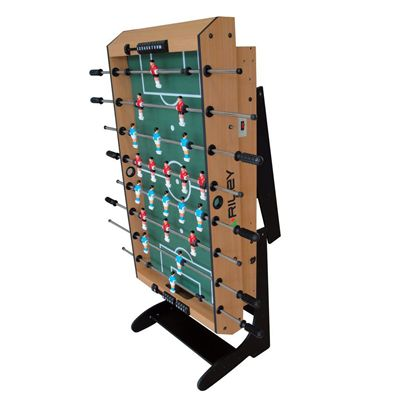 Riley 4ft 12 in 1 Folding Multi Games Table Football Folded