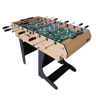 Riley 4ft 12 in 1 Folding Multi Games Table Football