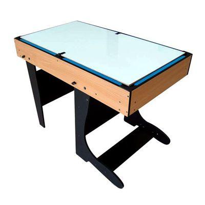 Riley 4ft 12 in 1 Folding Multi Games Table Whiteboard