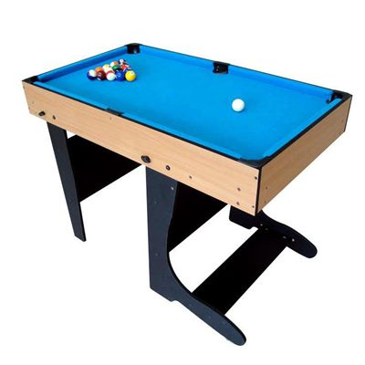 Riley 4ft 21 in 1  Folding Multi Games Table Billard Angle Shot