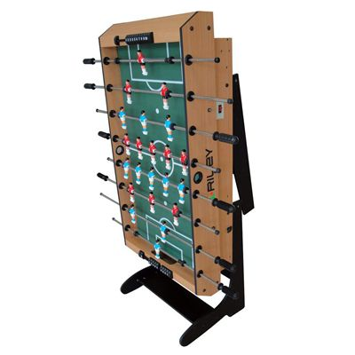 Riley 4ft 21 in 1  Folding Multi Games Table Football Folded